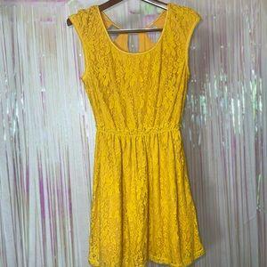 Chelsea & Violet lace knit dress